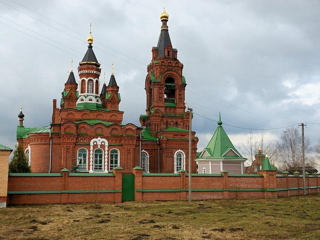 Екатерининская церковь в Рахманово (Павловский Посад)
