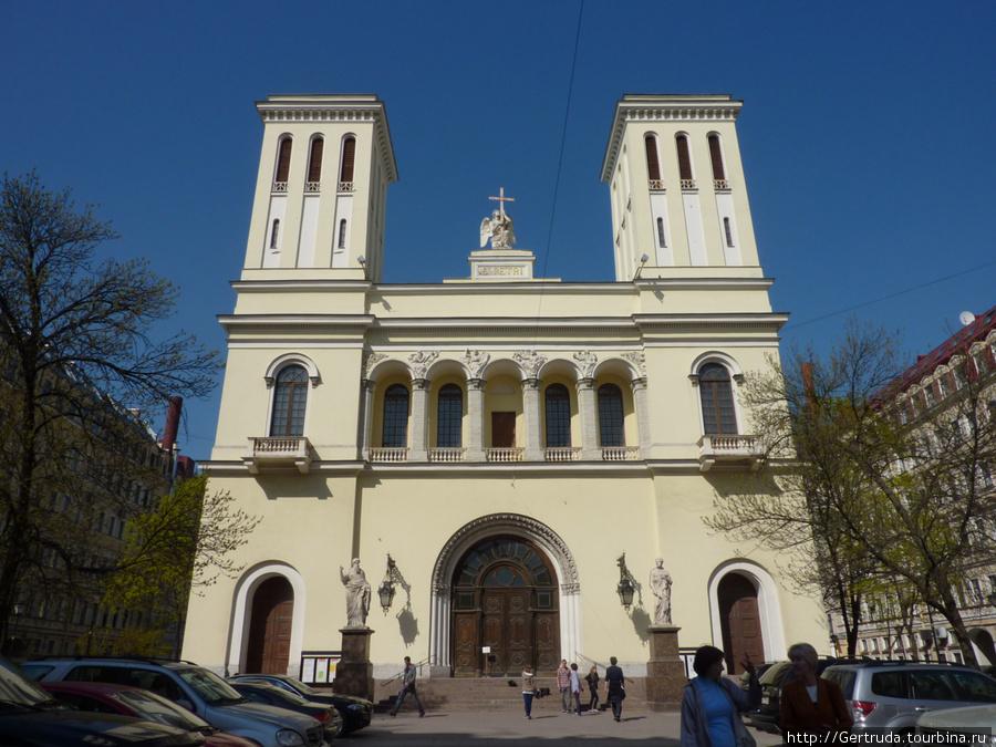 Лютеранская церковь Святых Петра и Павла (Петрикирхе) (Санкт-Петербург)