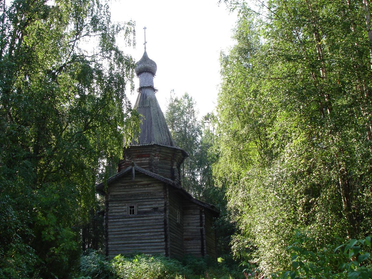 Никольская церковь в Муезере (Беломорск)