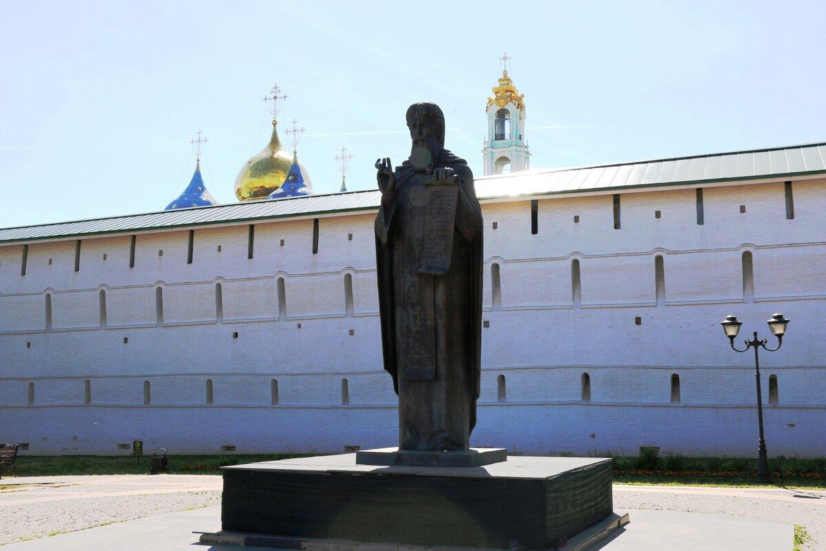 Памятник Сергию Радонежскому (Сергиев Посад)