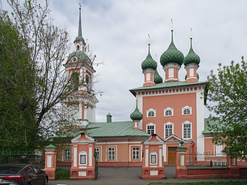 Церковь Иоанна Златоуста на Лавровской (Кострома)