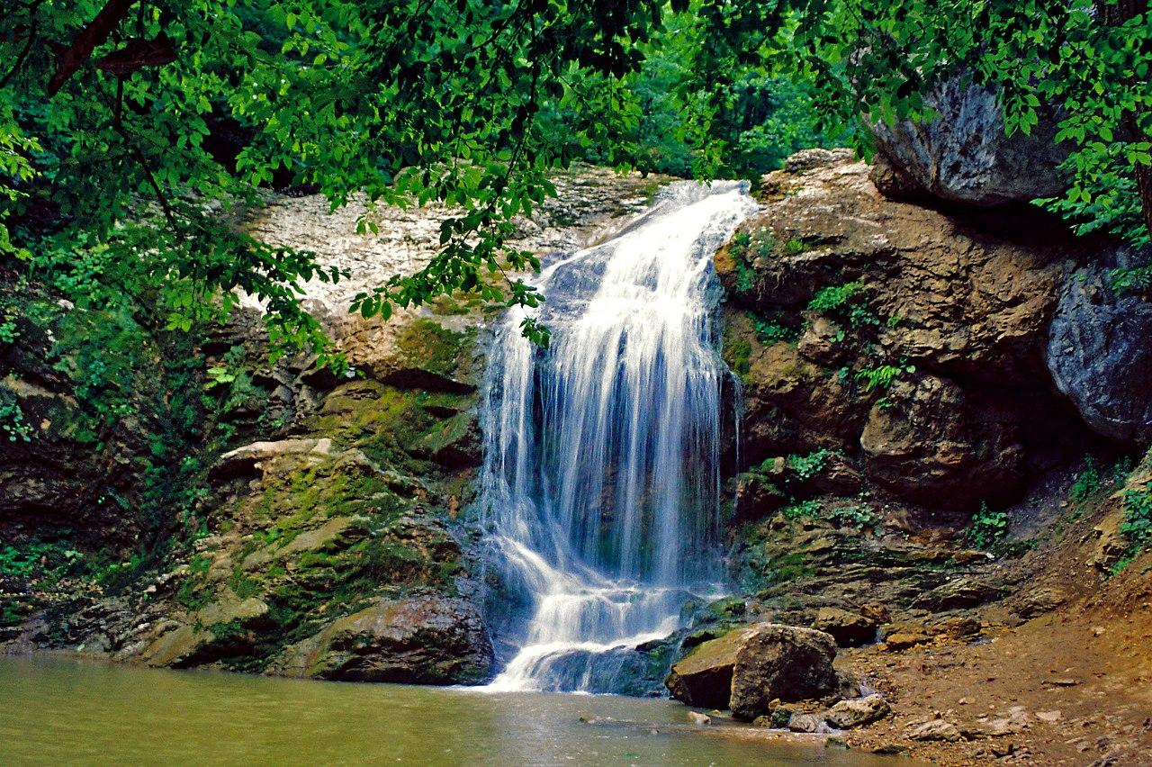 Водопады ручья Руфабго (Каменномостский)