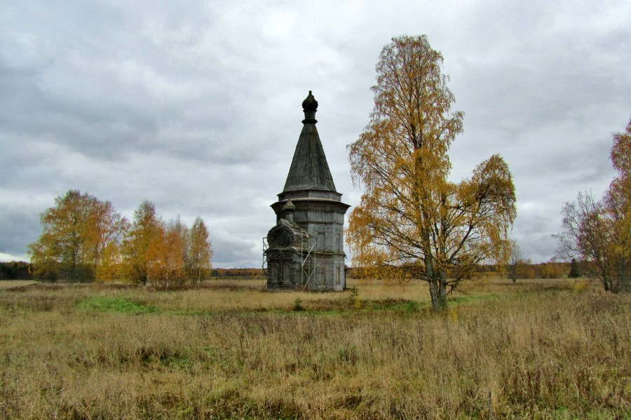 Деревня Красная Ляга (Каргополь)