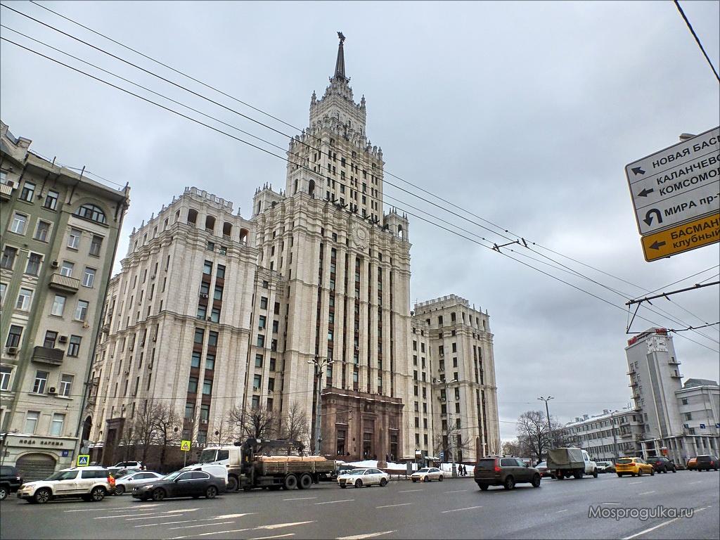 Высотка у Красных ворот (Москва)