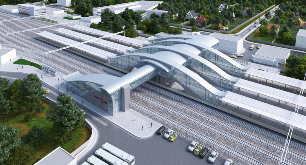 Железнодорожная станция «Нахабино» (Нахабино)