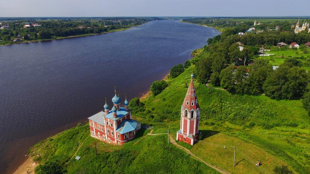 Казанская Преображенская церковь (Тутаев)