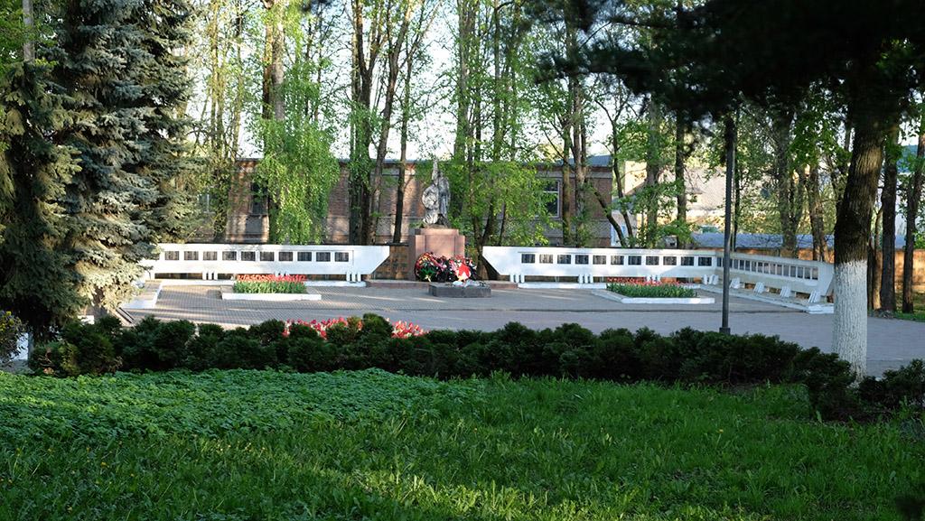 Сквер памяти погибших воинов (Рославль)