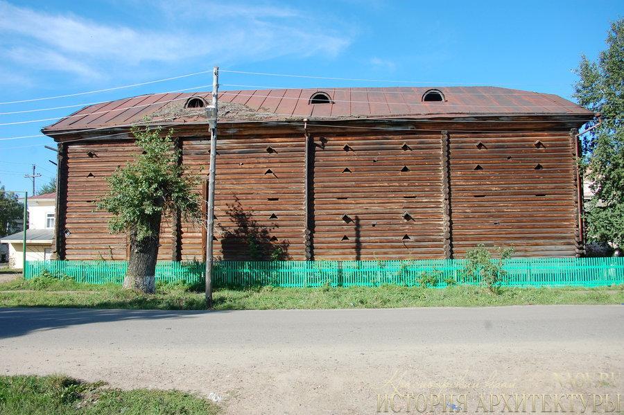 Деревянный амбар (конец XIX века) (Енисейск)