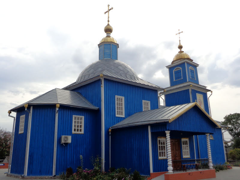 Церковь Рождества Богородицы в Людково (Новозыбков)