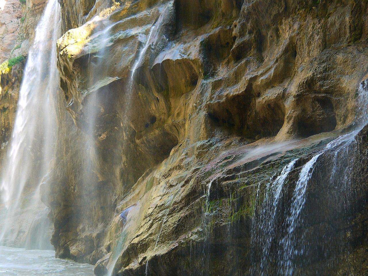 Чегемские водопады (Кабардино-Балкария)