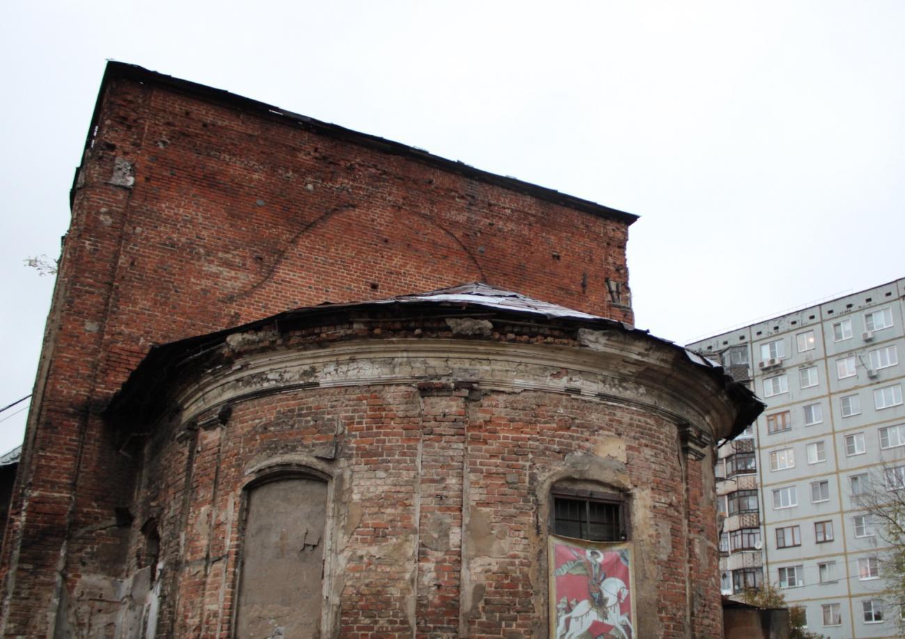 Церковь Благовещения Пресвятой Богородицы (перестроена) (Одоев)