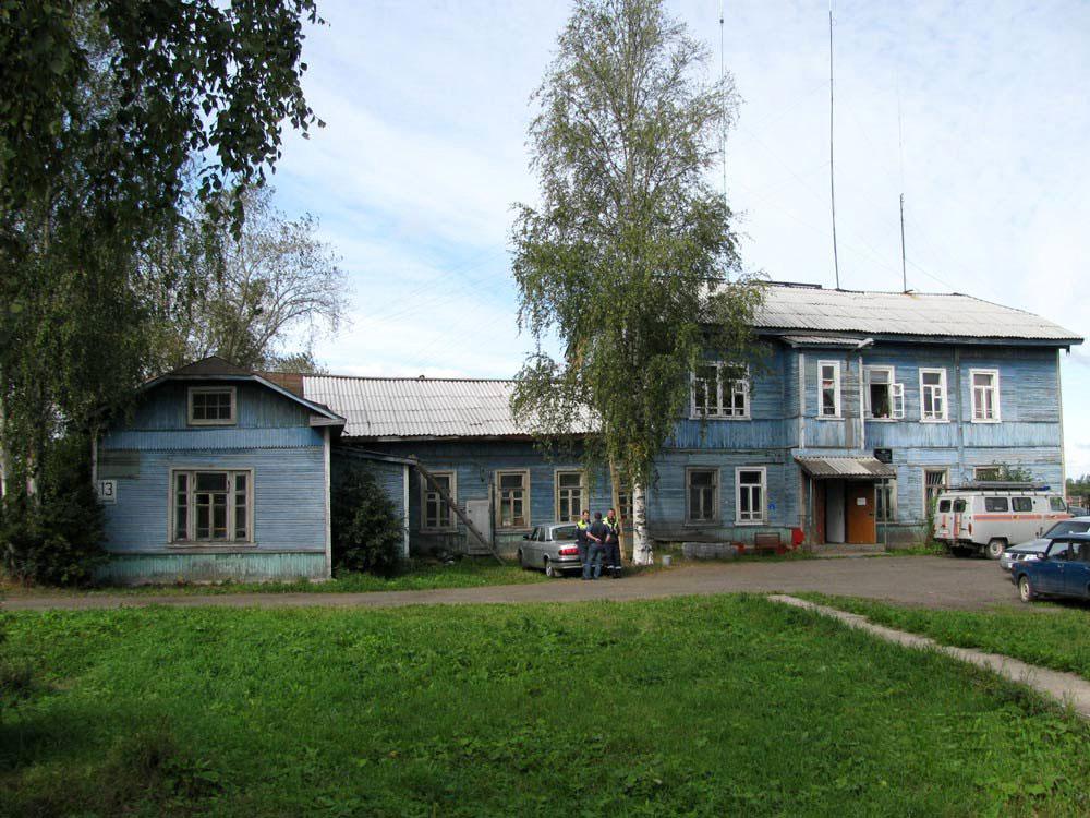 Здание Котласского военного порта (Котлас)