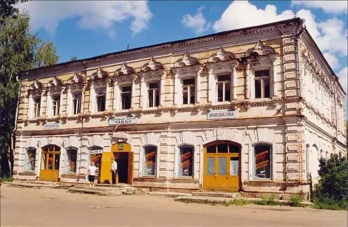 Дом купца Е. Л. Кудрявцева (Лысково)