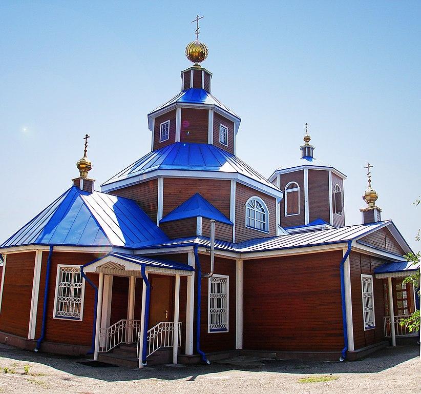 Никольский храм Георгиевска (Ставропольский край)