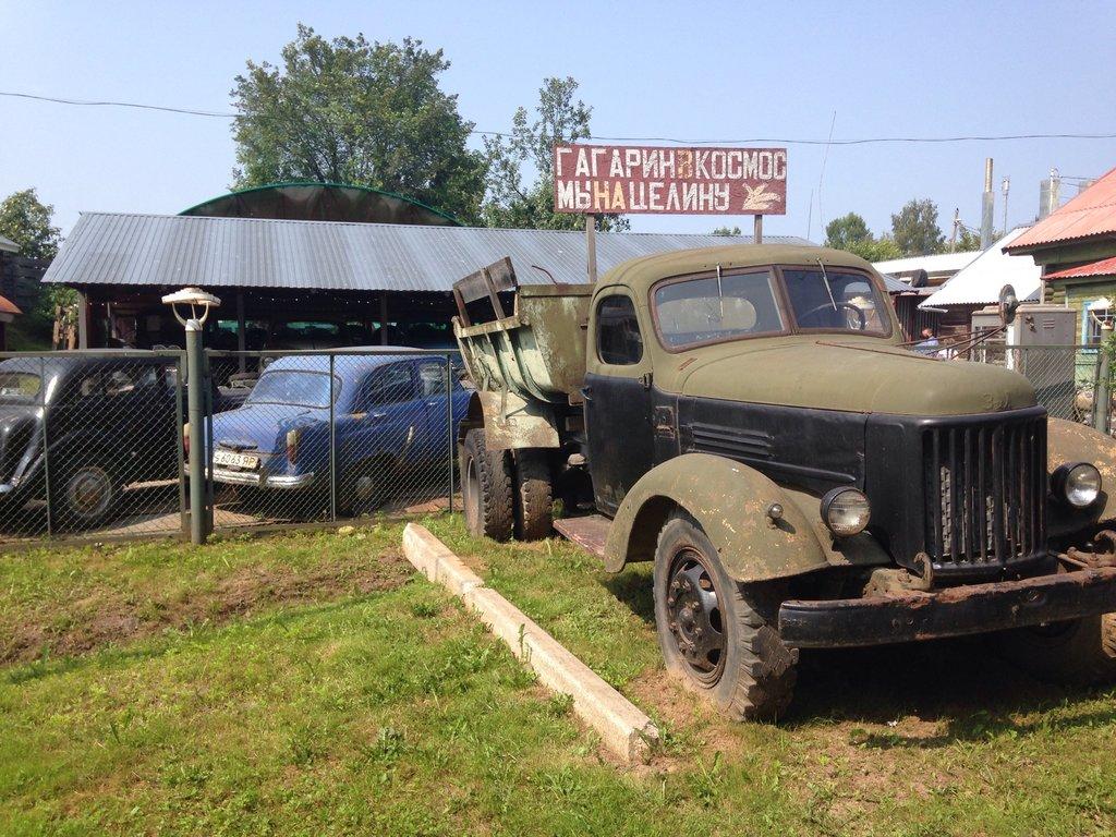 Клуб-музей ретротехники «Старый гараж» (Мышкин)