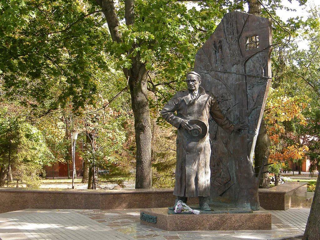 Памятник Константину Воробьёву (Курск)