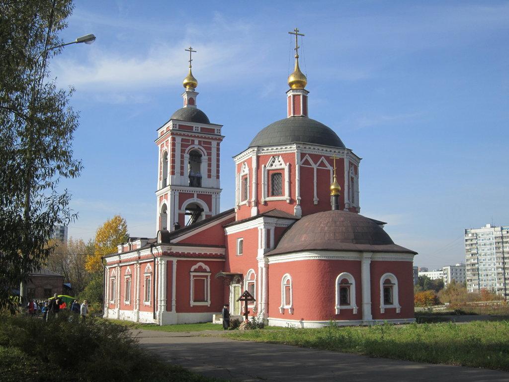 Церковь Покрова пресвятой Богородицы на Городне (Москва)