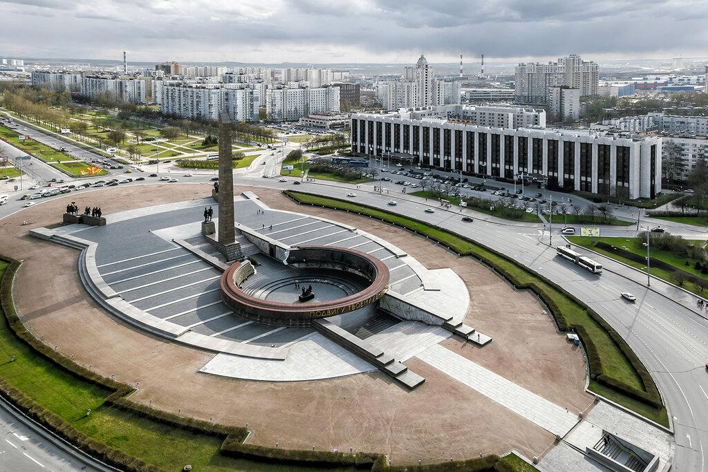 Монумент героическим защитникам Ленинграда (Санкт-Петербург)