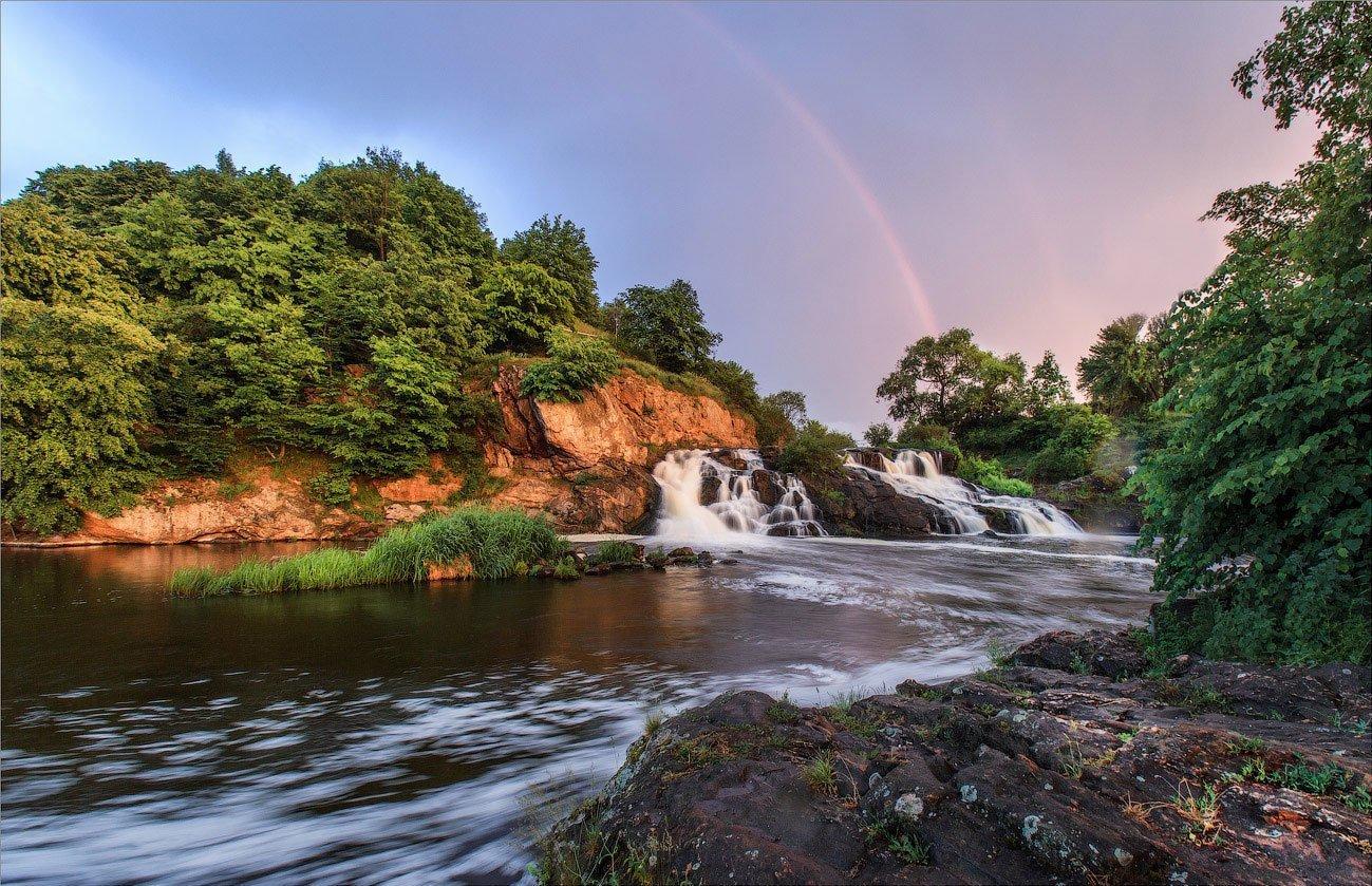 Водопад Вчелька (Житомирская область)