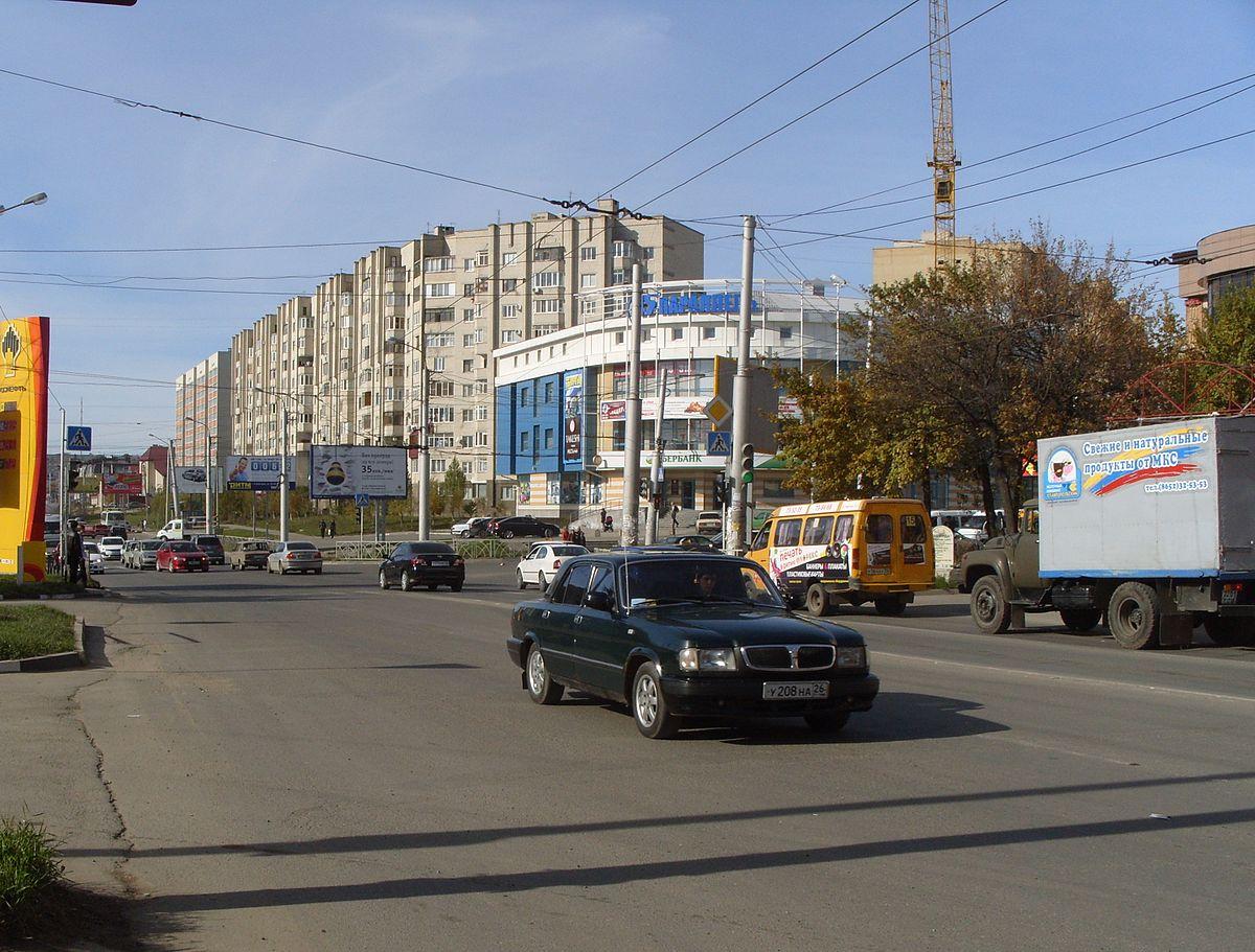 Улица 45 параллель (Невинномысск)