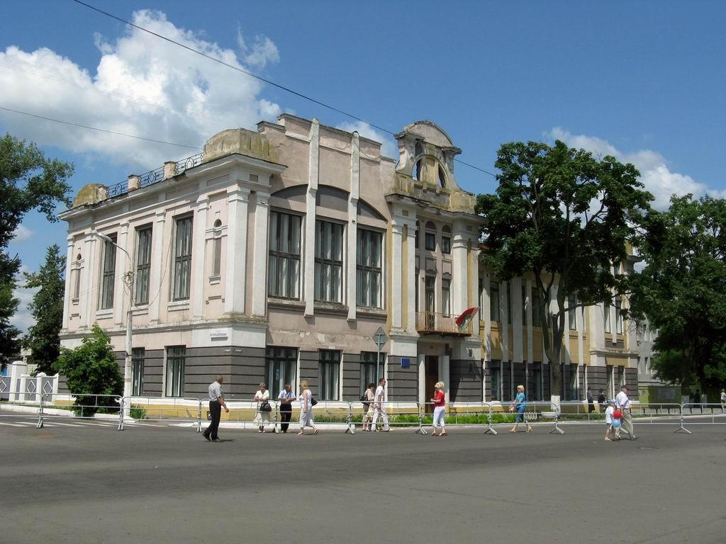 Здание бывшей земской управы (Рогачёв)