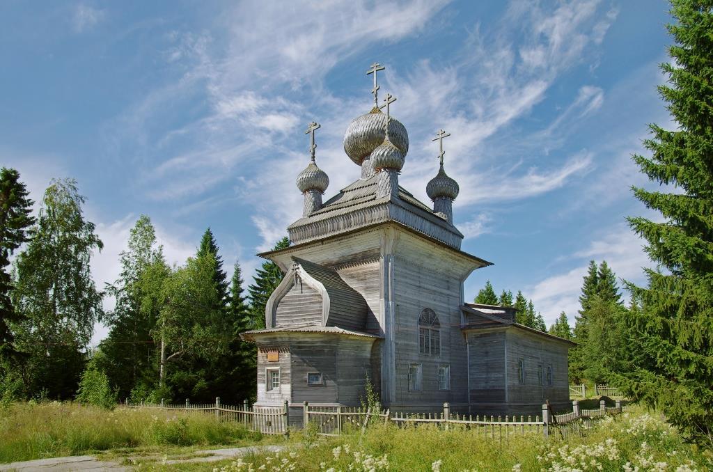 Петропавловская церковь в селе Вирма (Беломорск)
