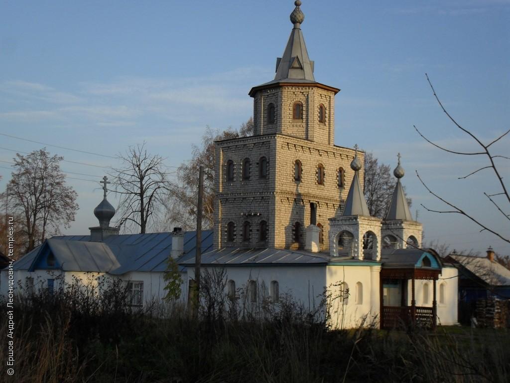 Церковь Серафима Саровского (Пучеж)