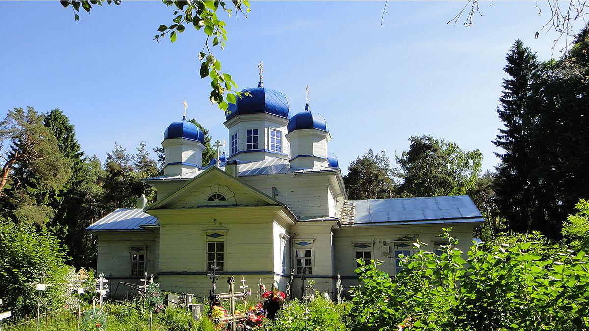 Успенская церковь в Кунелицах (Олонец)