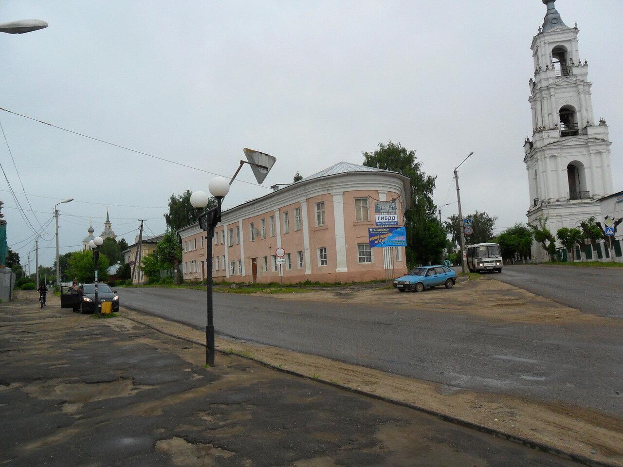 Дом «носок»— Дом Хворинова (конец XVIII века) (Нерехта)