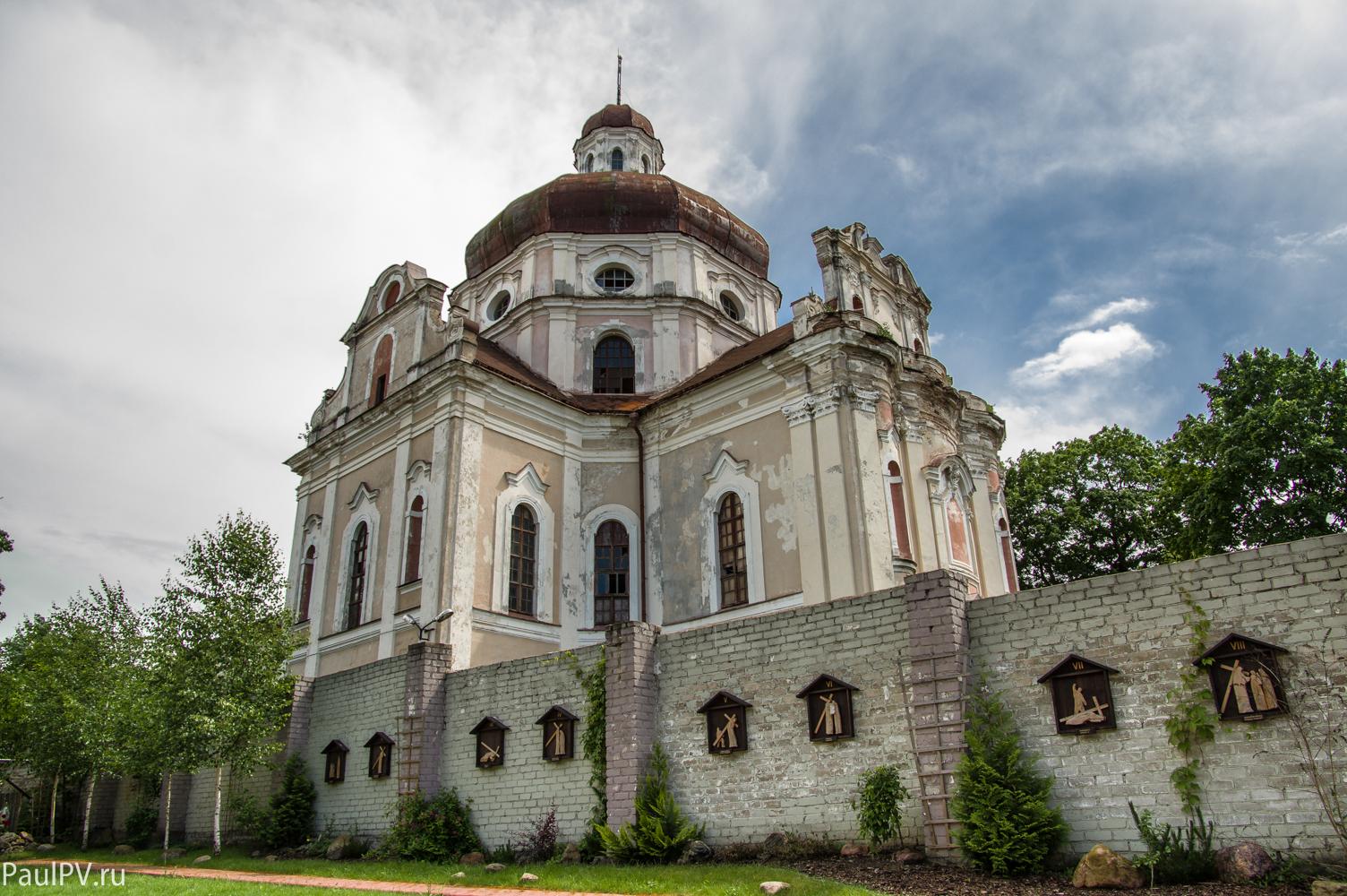Монастырь визиток и костел сердца Иисуса (Вильнюс)