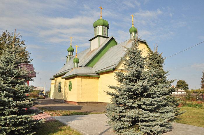 Церковь Троицы Живоначальной (Заспа) (Речица)