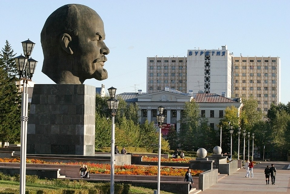 Памятник В. И. Ленину (Улан-Удэ)