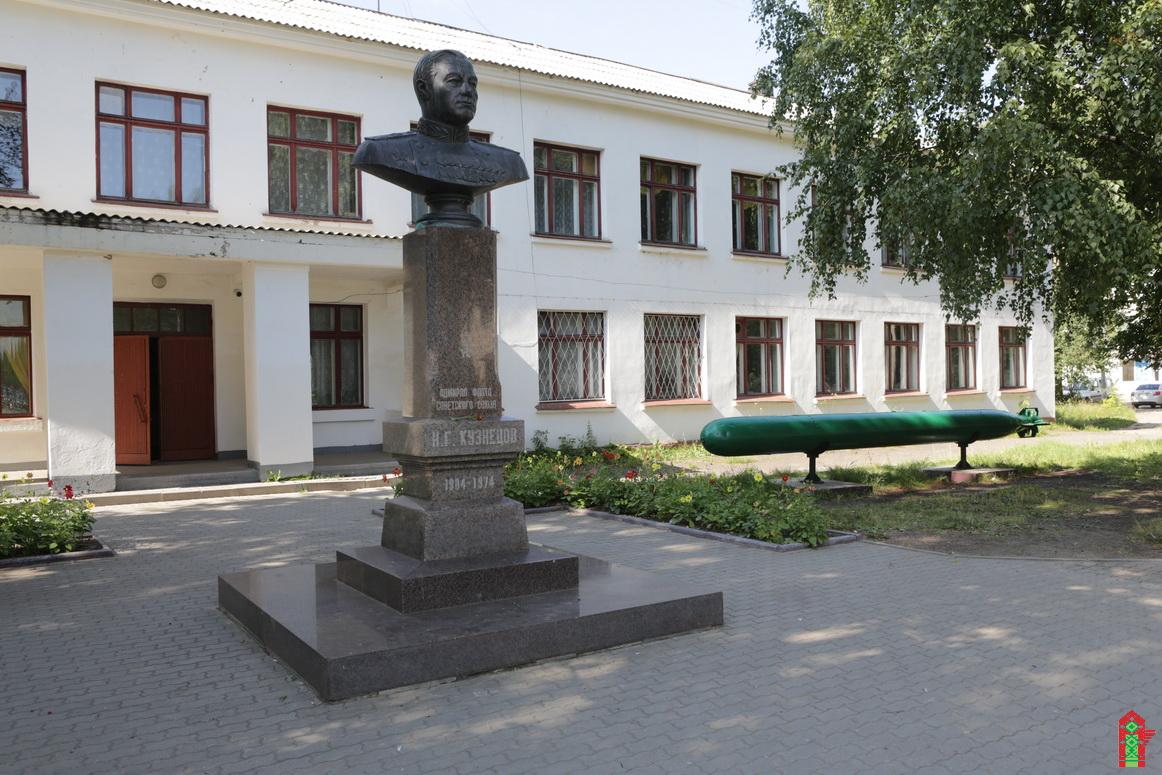 Памятник Н. Г.Кузнецову (Котлас)