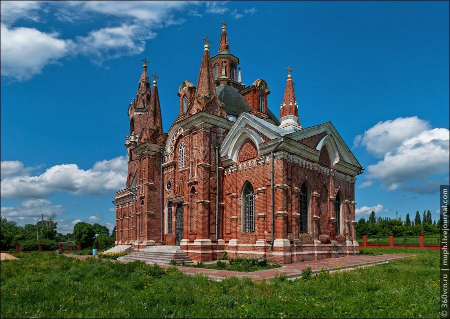 Усадьба «Знаменское» в Вешаловке (Липецкая область)