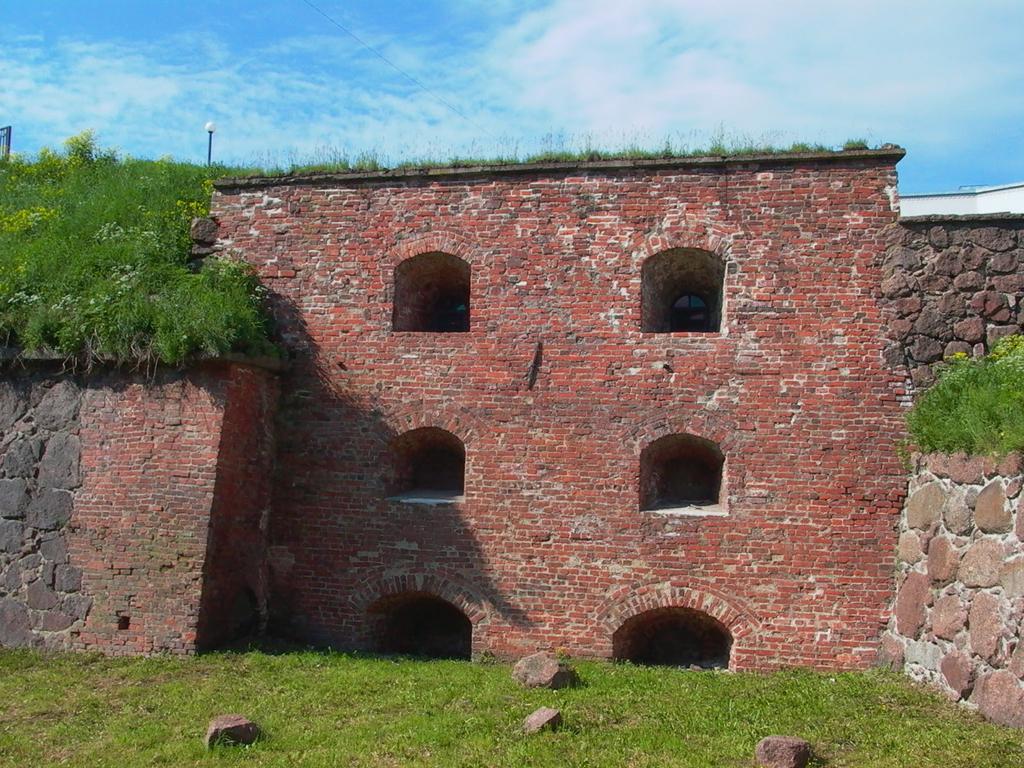 Выборгская крепость и Панцерлакс (Выборг)