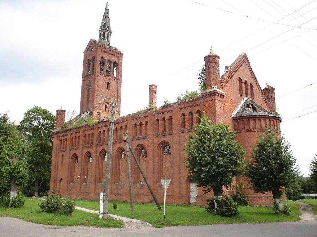 Лютеранская кирха (Озёрск)