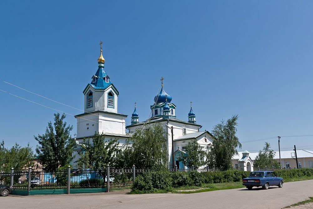 Церковь Казанской иконы Божией Матери (Соль-Илецк)