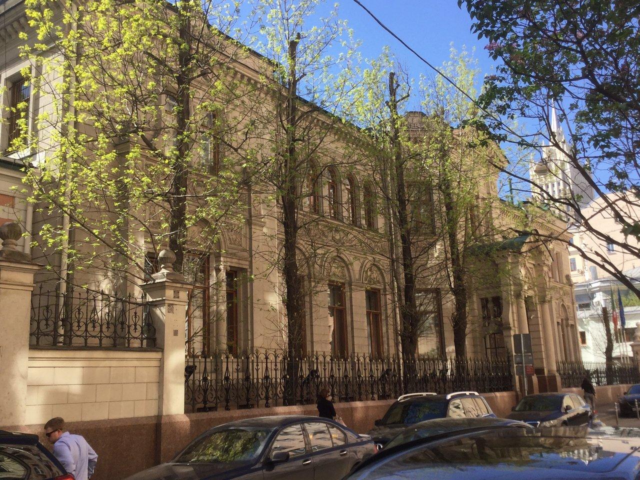 Здание посольства Италии (особняк Берга) (Москва)
