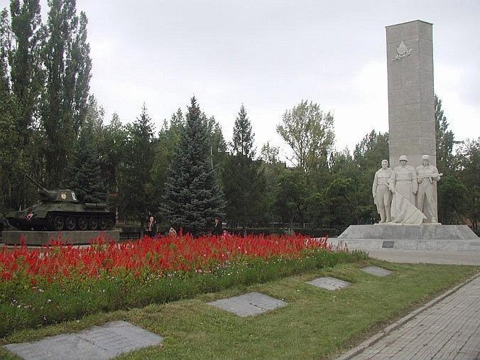 Каменский мемориал ВОВ (Каменск-Шахтинский)