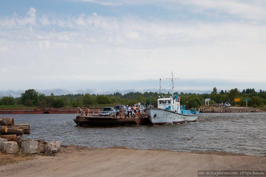 Паром в Белозерск (Кириллов)