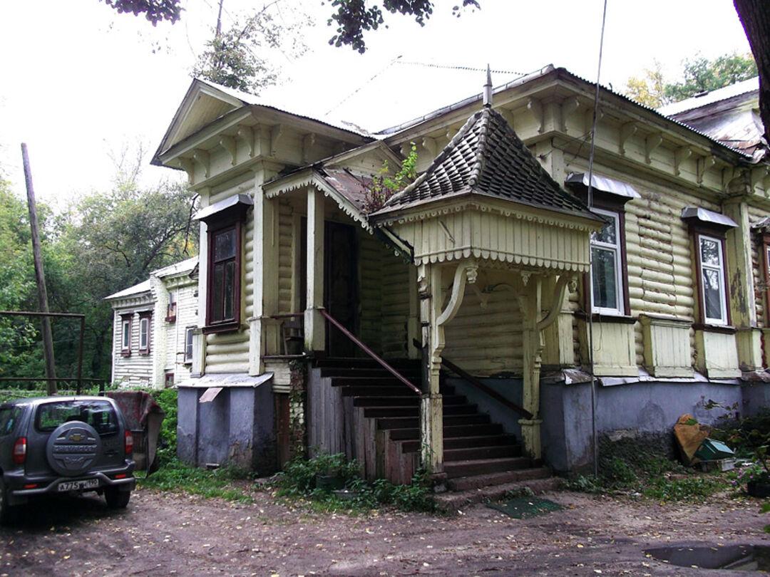 Деревянный дом Зиминых (Дрезна)