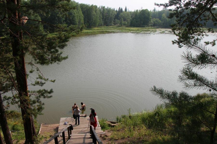 Монастырское озеро (Енисейск)