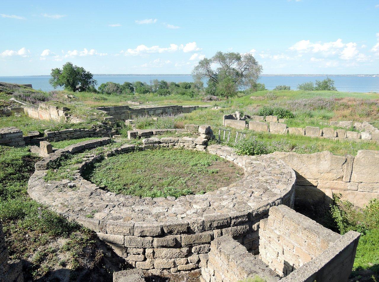 Развалины античного города Тиры (Белгород-Днестровский)