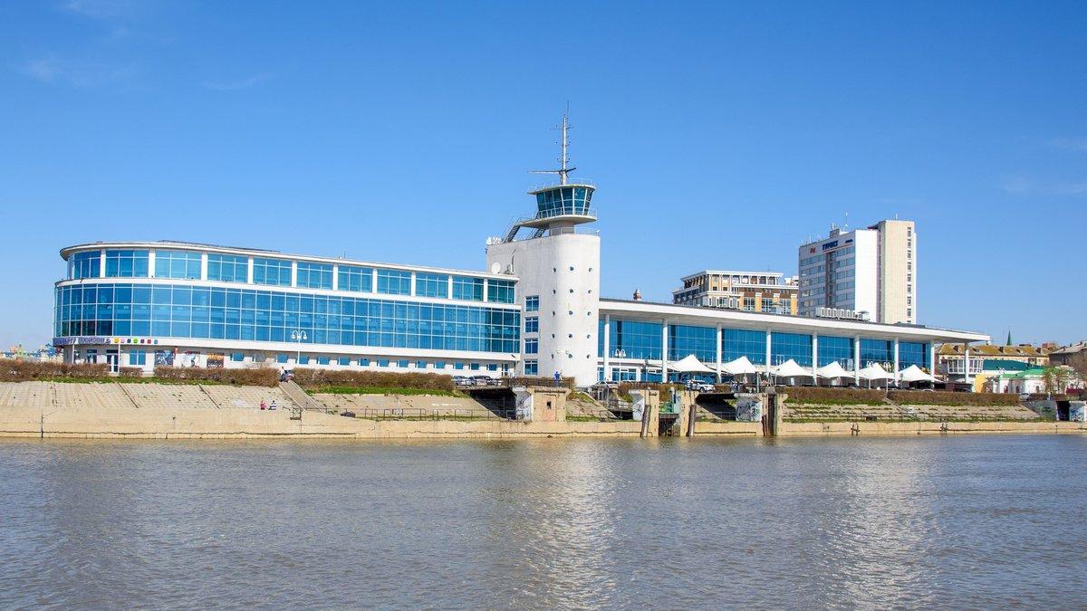 Омский речной вокзал (Омск)