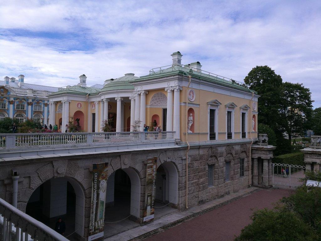 Павильон «Холодная баня» («Агатовые комнаты») (Пушкин)