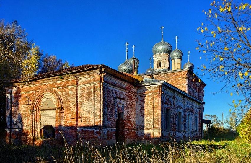 Богоявленская церковь в Рябово (Лух)