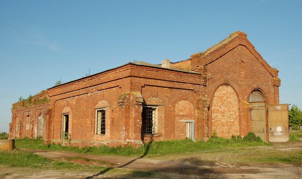 Комплекс зданий железнодорожного депо (Лепель)