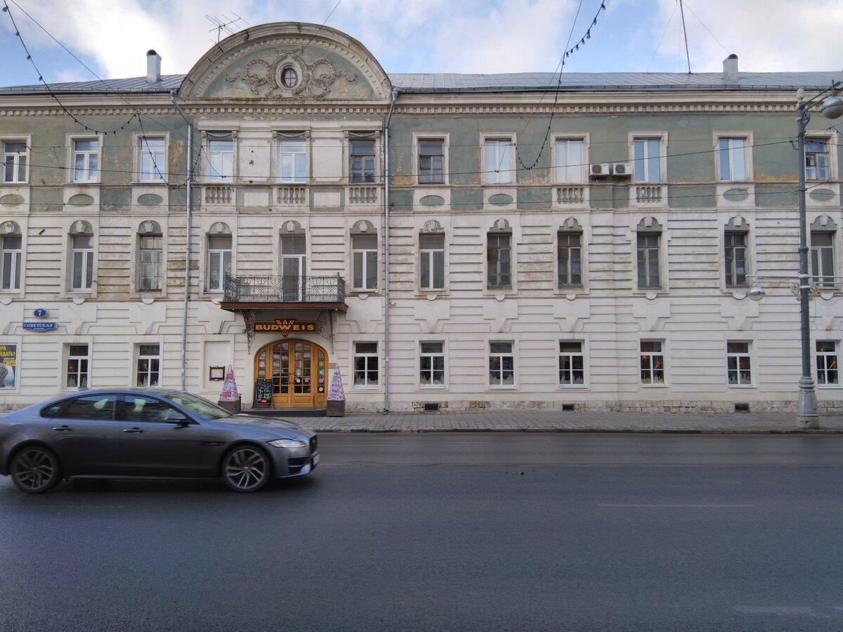Здание гостиницы Барсукова (Тверь)