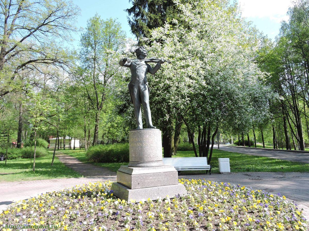 Памятник Иоганну Штраусу (Павловск)