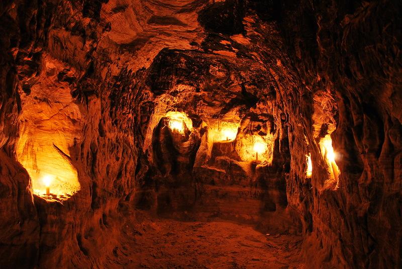 Гремячевские карстовые пещеры (Новомосковск)